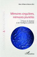 Pdf Mémoires singulières, mémoires plurielles