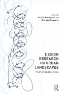Design Research for Urban Landscapes Book