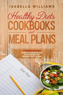Healthy Diets Cookbooks and Meal Plans