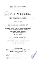 Life and Adventures of Lewis Wetzel, the Virginia Ranger