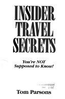Insider Travel Secrets