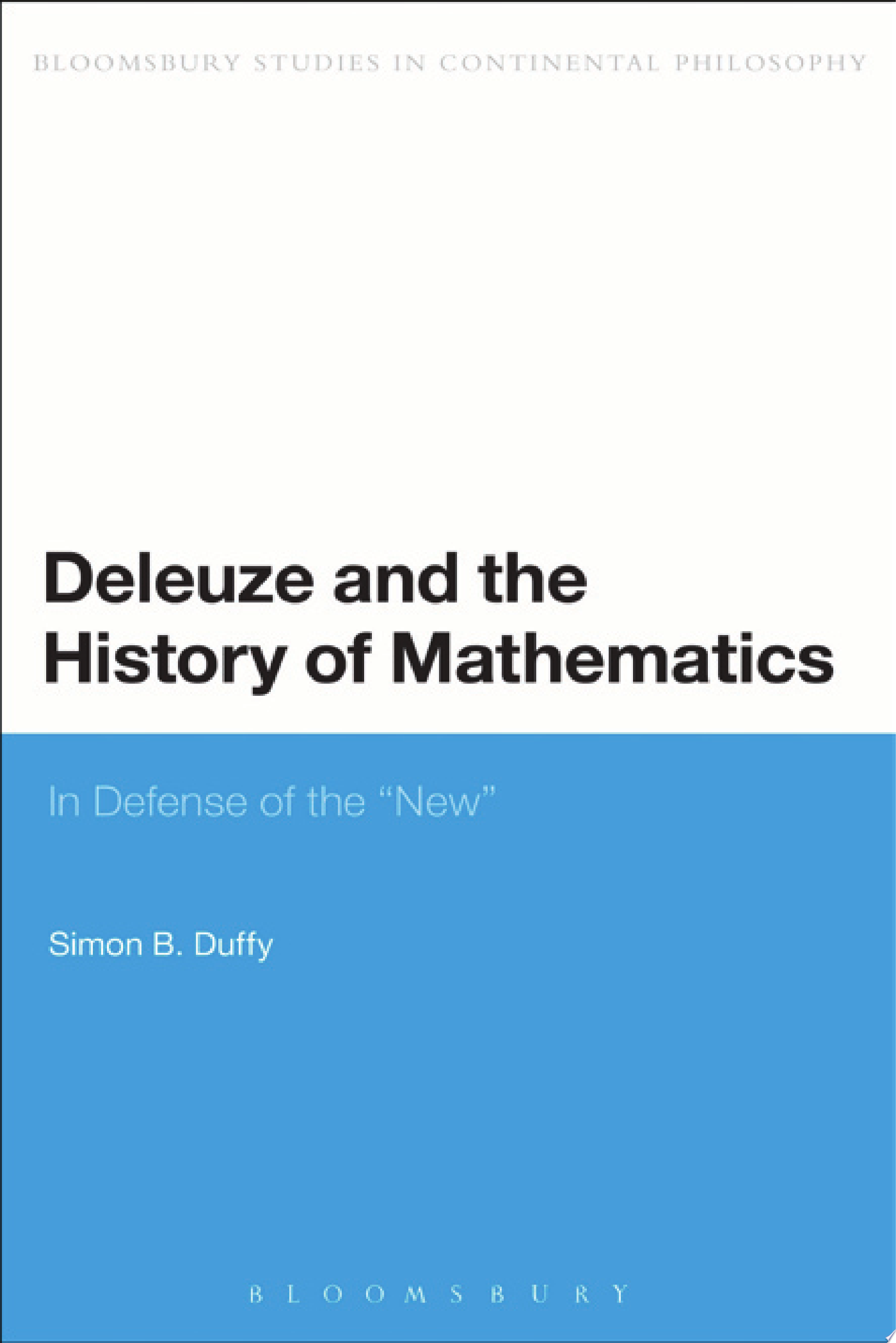 Deleuze and the History of Mathematics