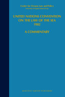 United Nations Convention on the Law of the Sea 1982, Volume VII