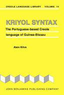 Kriyol Syntax
