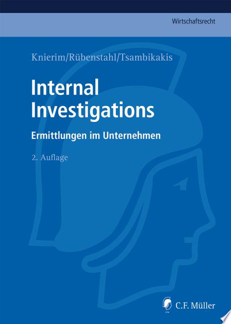 Knierim R  benstahl Tsambikakis  Internal Investigations