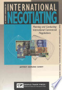 A Short Course In International Negotiating