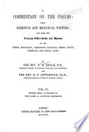 A Commentary On The Psalms Psalm Cxix To Psalm Cl With Index Of Scripture References 1874 Book PDF
