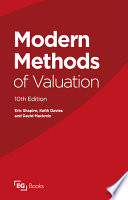 Modern Methods of Valuation Book