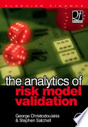 The Analytics of Risk Model Validation Book