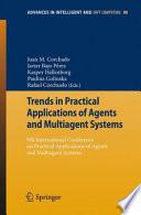 Trends in Practical Applications of Agents and Multiagent Systems Book