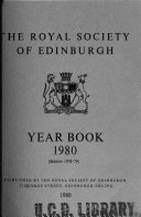 Year Book of the Royal Society of Edinburgh