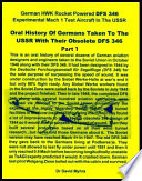 Oral History of Germans Taken To the USSR with Their Obsolete DFS 346-Part 1