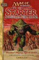Magic the Gathering   the Official Starter Game Strategy Guide