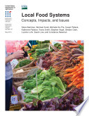 """Local Food Systems; Concepts, Impacts, and Issues"" by Steve Martinez"