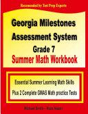 Georgia Milestones Assessment System Grade 7 Summer Math Workbook
