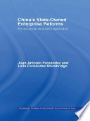 China s State Owned Enterprise Reforms