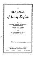 A grammar of living English