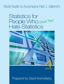 Study Guide To Accompany Neil J Salkind S Statistics For People Who Think They Hate Statistics 4th Edition PDF
