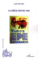 Pdf La Grèce depuis 1940 Telecharger