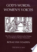 God s Words  Women s Voices Book