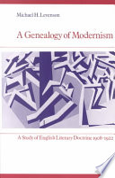 A Genealogy of Modernism