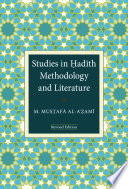 Studies in Had  th Methodology and Literature