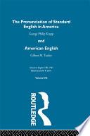 Pronunc Standard Eng America V