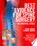 Best Evidence for Spine Surgery E Book Book