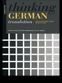 Thinking German Translation Pdf/ePub eBook