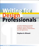 Thumbnail Writing for design professionals