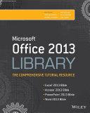 Office 2013 Bible e-Book Library