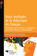 Pdf Voies multiples de la didactique du français Telecharger