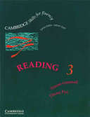 Reading 3 Student's Book