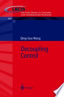 Decoupling Control