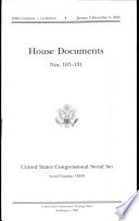 United States Congressional Serial Set No 14839 House Documents Nos 107 131