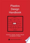 Plastics Design Handbook Book