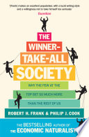 The Winner Take All Society Book