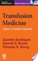 Transfusion Medicine Book PDF