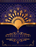 Mandala Luxury Coloring Book