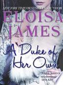 A Duke of Her Own Book