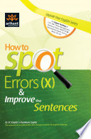 How to Spot Errors (X) & Improve the Sentences
