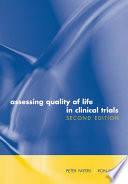 Assessing Quality of Life in Clinical Trials Book
