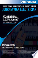 Virginia 2020 Journeyman Electrician Exam Questions And Study Guide Book