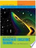 Case Method in Management Education  , Volume 1