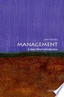 Management A Very Short Introduction