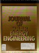 Journal of Solar Energy Engineering