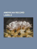American Record Labels