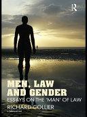Men  Law and Gender