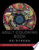 Adult Coloring Book De Stress