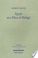 Egypt as a Place of Refuge
